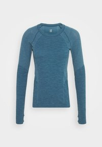 Sweaty Betty - ATHLETE SEAMLESS WORKOUT - Sports shirt - stellar blue - 3