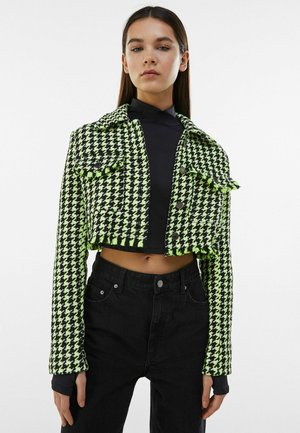 Summer jacket - green/black