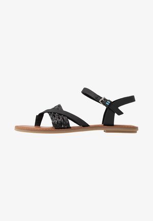 LEXIE - T-bar sandals - black