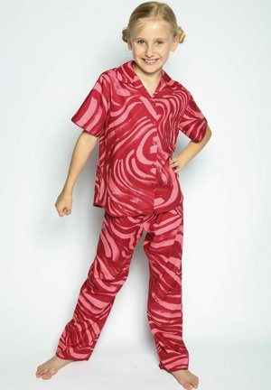 SET  - Pyjama - red spiral