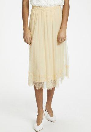 KATRINACR - A-line skirt - dusty sun