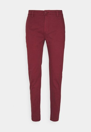 XX CHINO SLIM FIT II - Chinos - reds