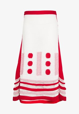 SKIRTS - A-line skirt - fantasia/bianco/rosa/rosso