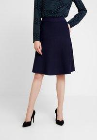 Anna Field - Áčková sukně - dark blue - 0