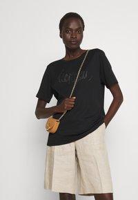 Marc Cain - Print T-shirt - black - 3