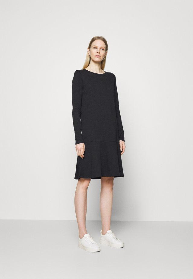 LONGSLEEVE DRESS - Jerseyjurk - black