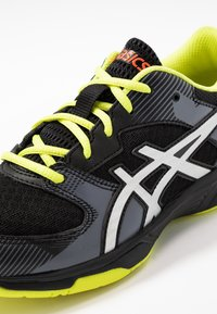 ASICS - GEL-TACTIC 2 - Volleyball shoes - black/silver - 2