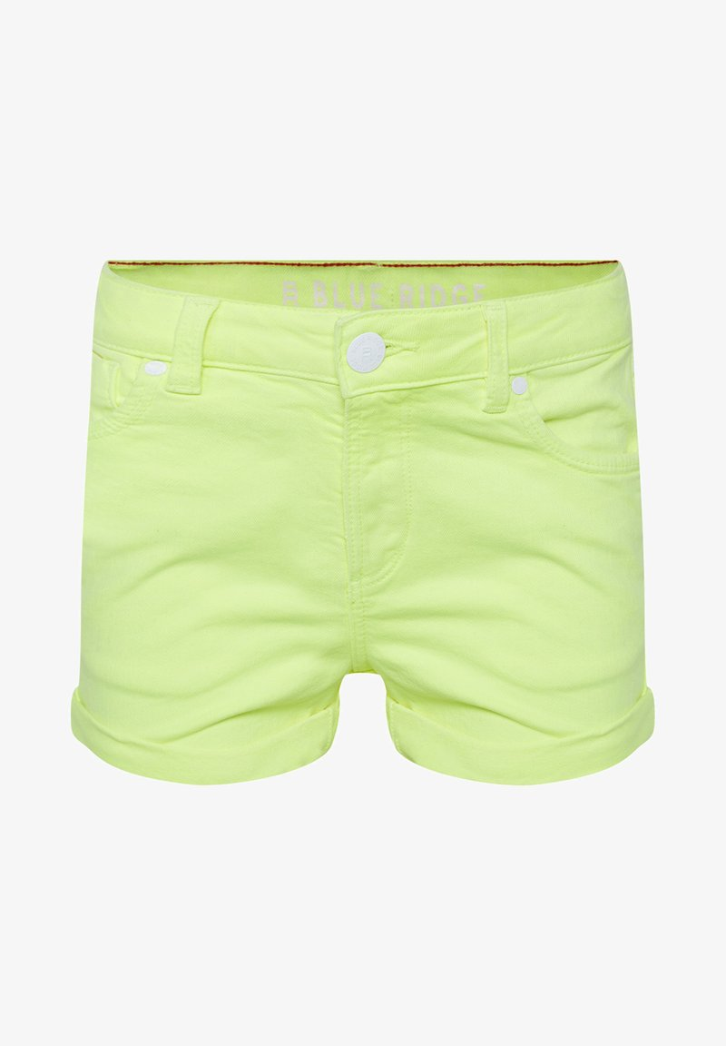 WE Fashion - Denim shorts - bright yellow
