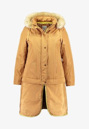 LIGHTWEIGHT WITH DETACHABLE - Parka - camel