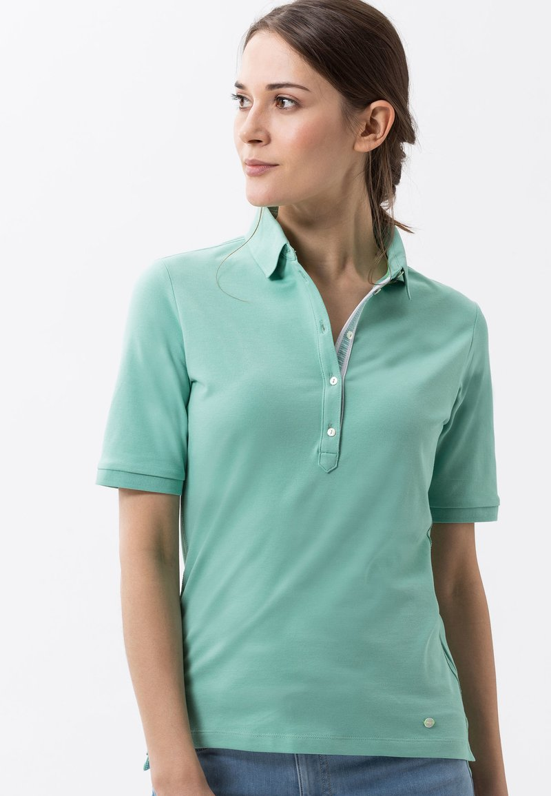 BRAX - STYLE CLEO - Polo shirt - jade