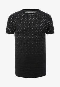Pier One - T-shirt z nadrukiem - black - 3