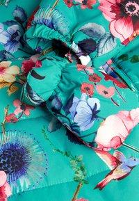 Next - FLORAL  - Sleep suit - blue - 2