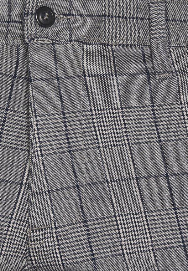 Selected Homme SLHSLIM STORM FLEX SMART PANTS - Spodnie materiałowe - grey/blue/szary Odzież Męska EHZB