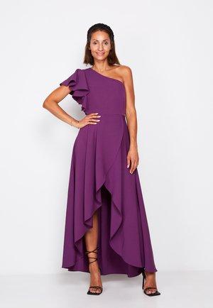 PREMIUM HI-LOW WRAP  - Occasion wear - purple