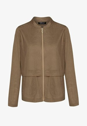 MIT SEITLICHEN EINGRIFFSTASCHEN - Summer jacket - brown