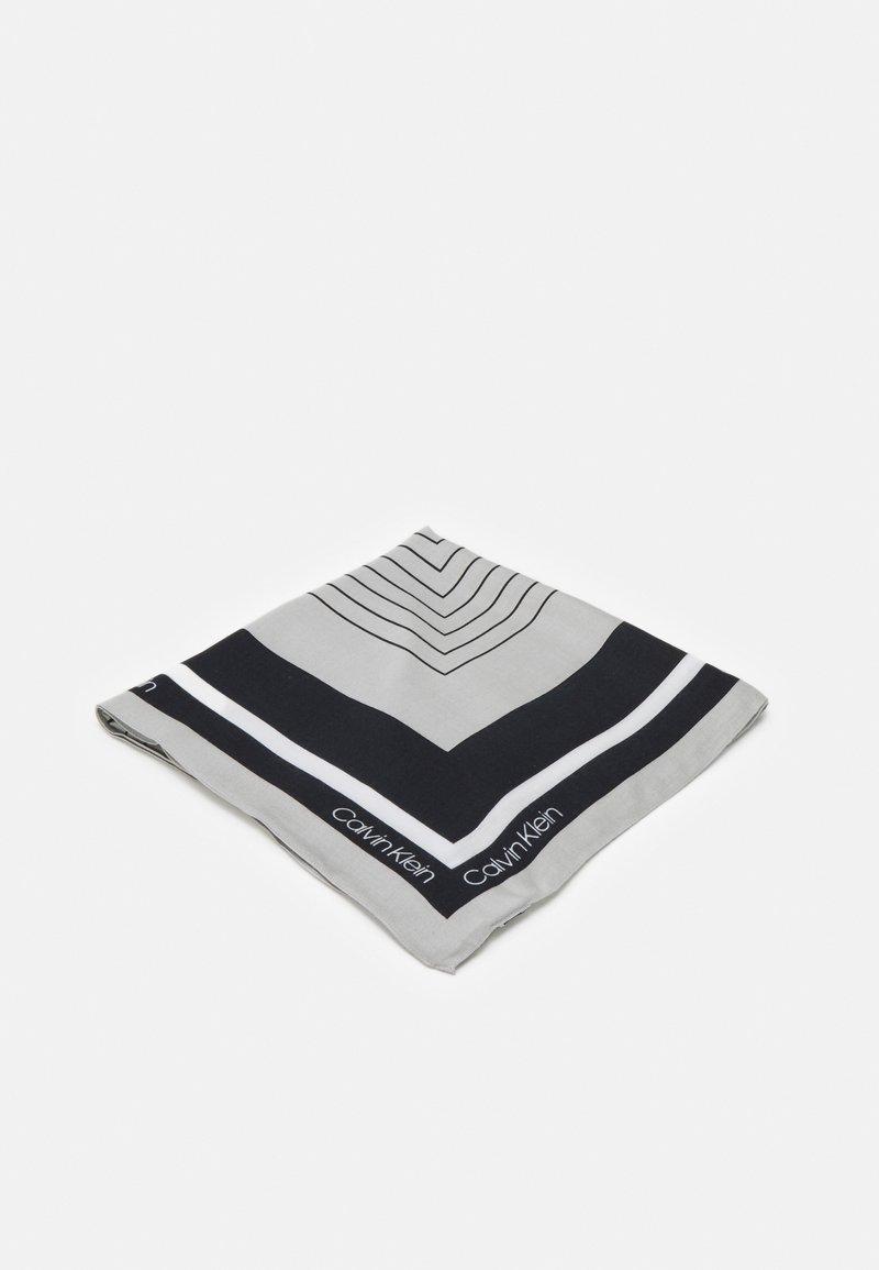 Calvin Klein - SCARF - Foulard - black