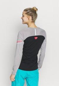Dynafit - ALPINE PRO TEE - T-shirt sportiva - alloy melange - 2