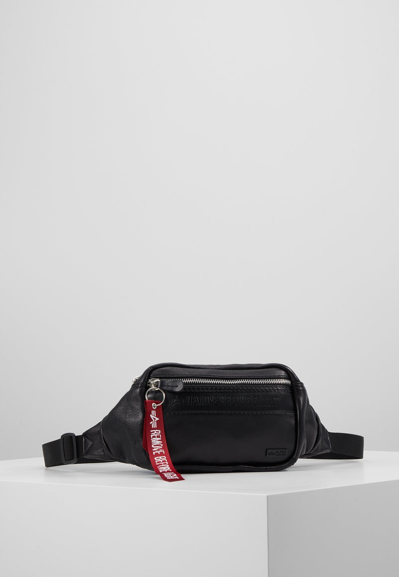 Alpha Industries - WAISTBAG - Bum bag - black