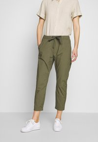Marc O'Polo - RYGGE - Trousers - soaked moss - 0