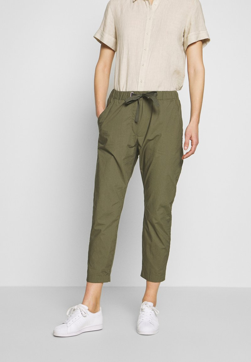 Marc O'Polo - RYGGE - Trousers - soaked moss