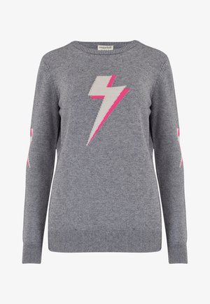 SWEATER STACEY KA-POW! LIGHTNING - Sweater - charcoal