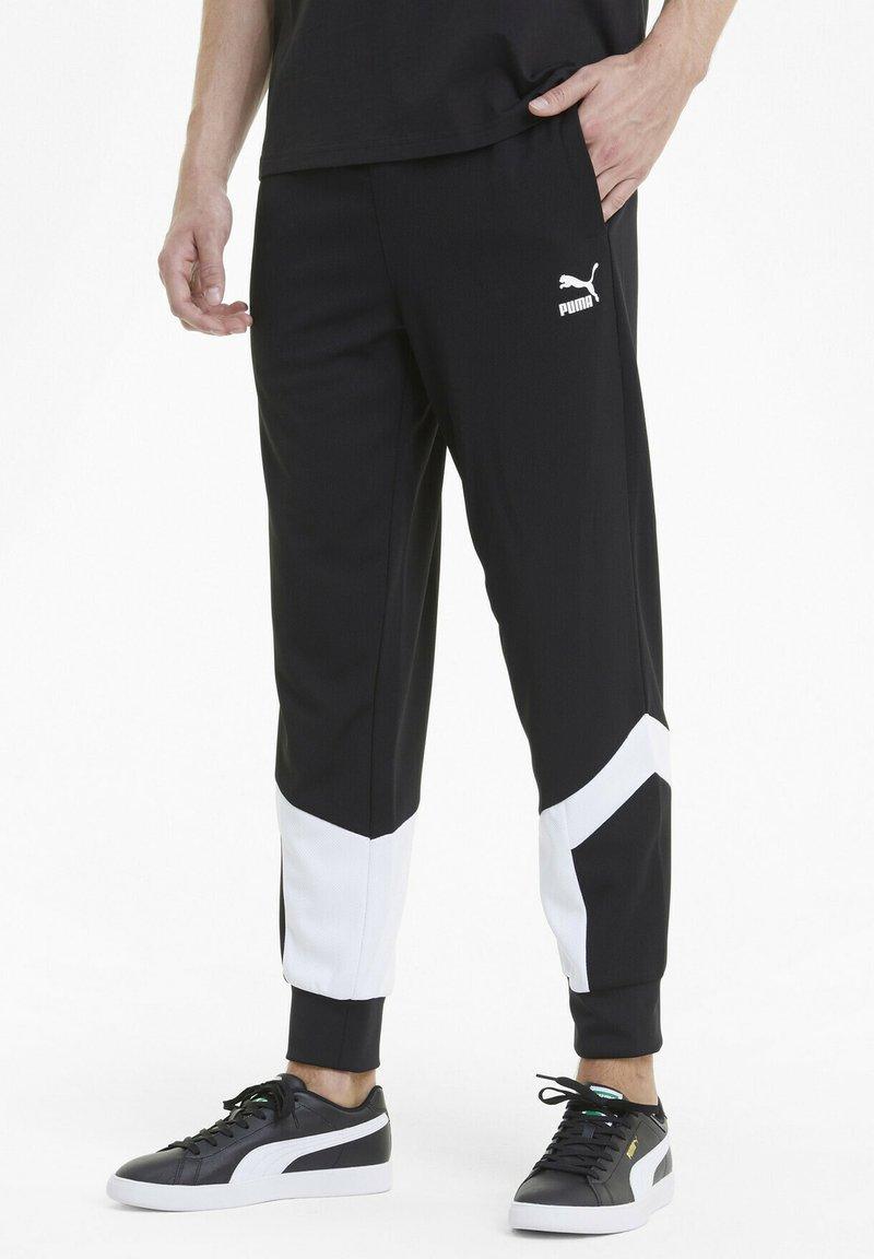 Puma - ICONIC MCS - Pantalon de survêtement - puma black