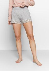 Skiny - DAMEN SLEEP AND DREAM - Pyjama bottoms - stone grey melange - 0
