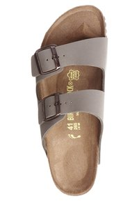 Birkenstock - ARIZONA NARROW FIT - Sandalias planas - stone - 6