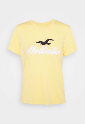 TIMELESS - T-shirt imprimé - yellow