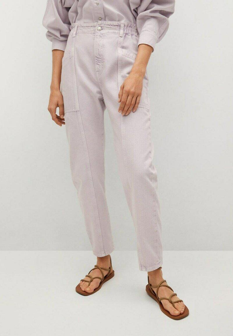 Mango - Kalhoty - lilac