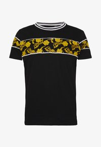 Brave Soul - T-shirt med print - black/multi - 4