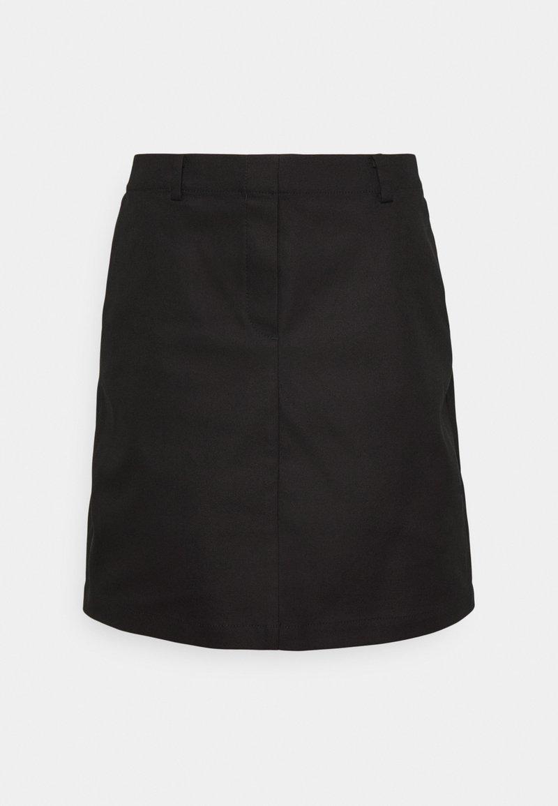 Marc O'Polo - ELASTIC AT BACK - Áčková sukně - black