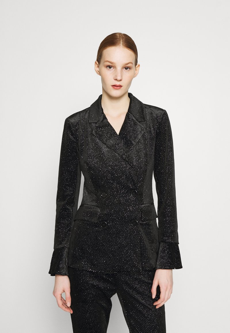 Never Fully Dressed - GLITTER DYNASTY JACKET - Blazer - black