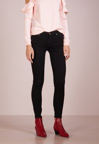 7 for all mankind - Jeans Skinny Fit - bair rinsed black - 0
