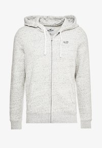 Hollister Co. - CORE ICON - Zip-up hoodie - grey - 4