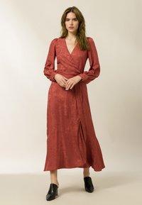 IVY & OAK - Maxi dress - tuscan red - 0