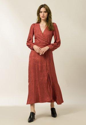Maxi dress - tuscan red