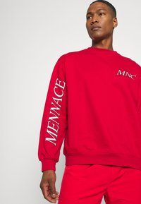 Mennace - COURTSIDE REGULAR - Sweatshirt - red - 5