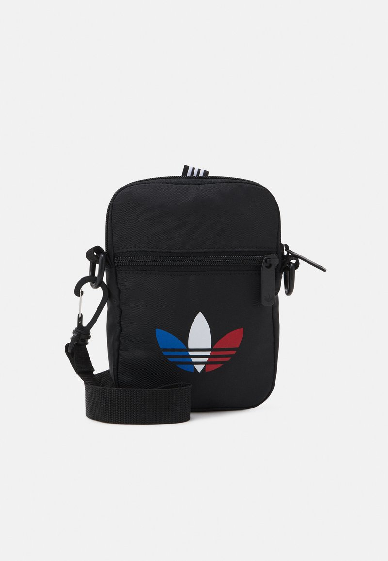 adidas Originals - TRICOL FEST BAG UNSISEX - Taška spříčným popruhem - black