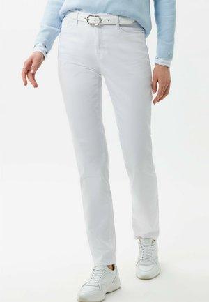 STYLE MARY - Jean slim - white
