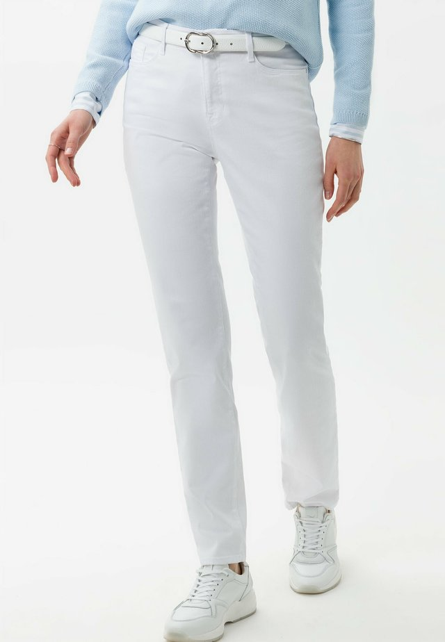 STYLE MARY - Slim fit jeans - white