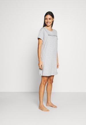 SLEEPSHIRT CREW NECK - Pyjama top - grau-meliert
