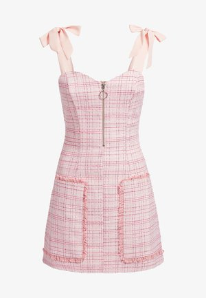 Robe fourreau - mehrfarbe rose