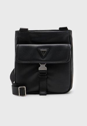 CERTOSA SMART XBODY WITH FLAP - Across body bag - black