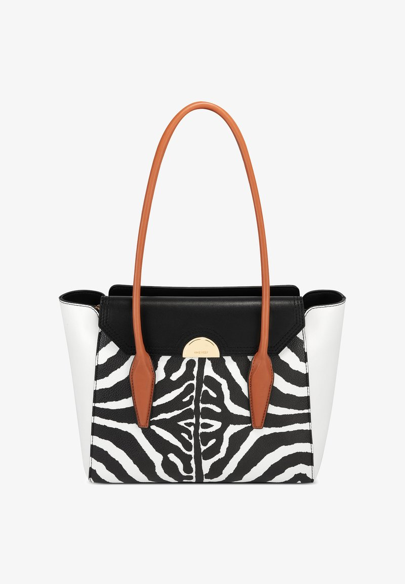 Nine West - HATTIE  - Handbag - zebra