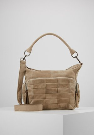 ROCKY - Handbag - motty grey