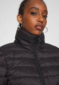 Vila - VISIBIRIA SHORT JACKET - Light jacket - black - 4
