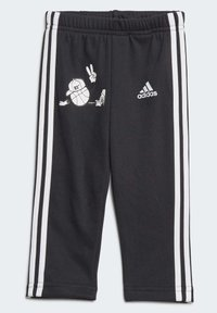 adidas Performance - FRENCH TERRY GRAPHIC TRACKSUIT - Tracksuit - grey - 2