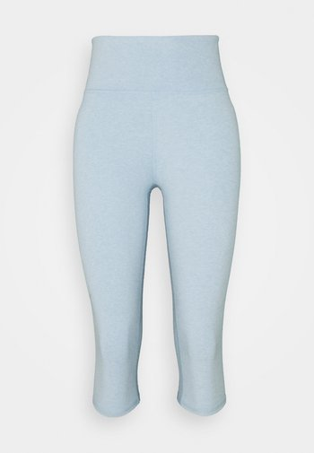 SO PEACHY CAPRI - Leggings - baby blue marle