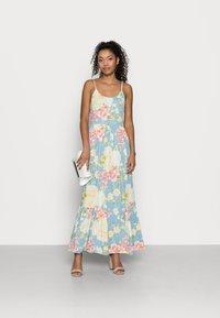 VILA PETITE - VIMESA STRAP MAXI DRESS - Maxi dress - cashmere blue - 1